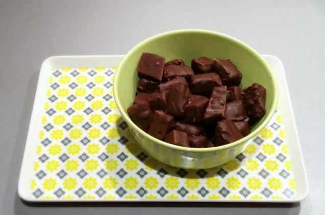 Ananas og sjokolade